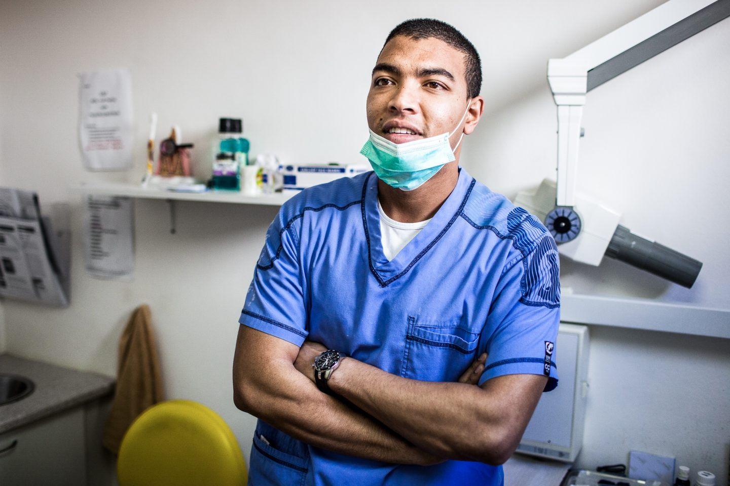 Ryan Müller is a dentist in Cape Town, South Africa.