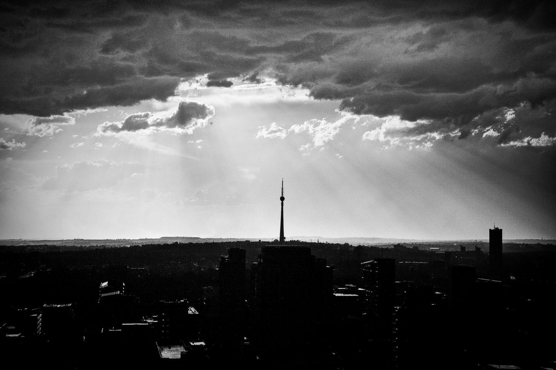 Overlooking Johannesburg, 2009.