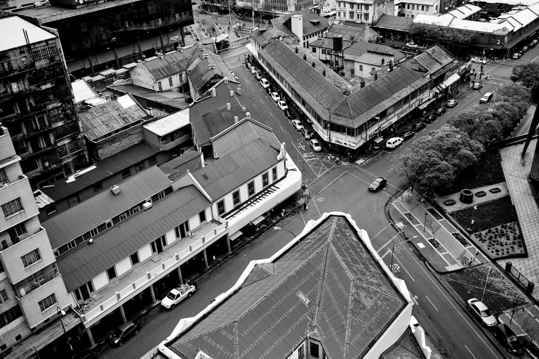 Overlooking Newtown in Johannesburg CBD, 2015.