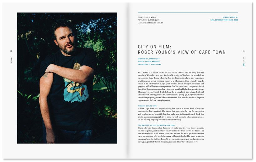City of Film: Roger Young's Cape Town for Hayo Magazine