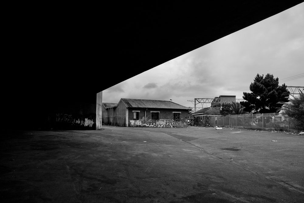 Underneath Salt River train station, 2010.